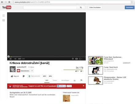 správa-youtube-kanálů